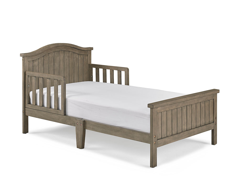 Delmar Toddler Bed - Vintage Grey | Modern Fisher-Price® Baby Furniture by Bivona & Company